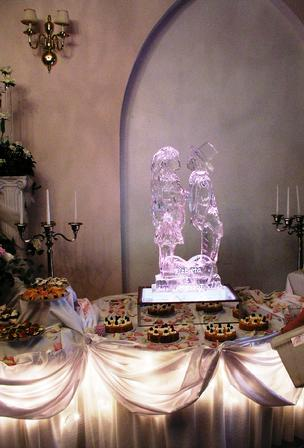 wedding sculpture world class ice sculpture .com