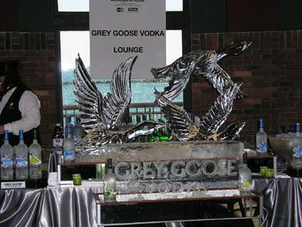 Grey goose ice sculpture world class ice sculpture